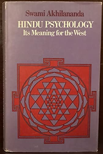 9780710010063: Hindu Psychology Hb