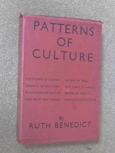 40 Patterns Of Culture AbeBooks Ruth Benedict Delectable Patterns Of Culture