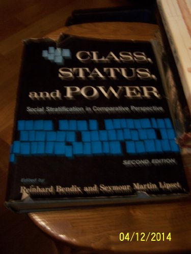 9780710010735: Class, Status and Power