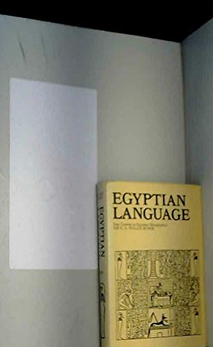 9780710011299: Egyptian Language: Easy Lessons in Egyptian Hieroglyphics with Sign List