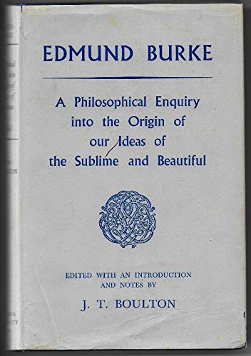 9780710011404: Philosophical Enquiry into the Origin of Our Ideas of the Sublime and Beautiful