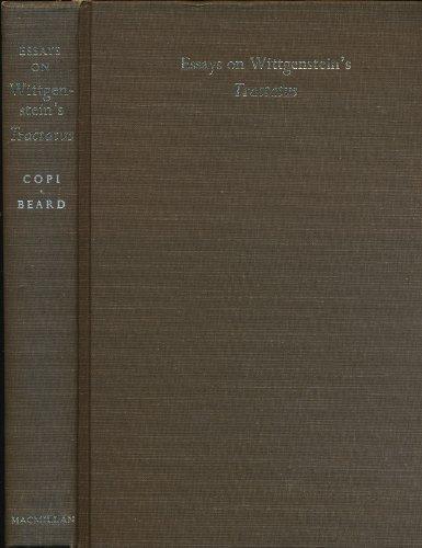 "9780710012319: Essays on Wittgenstein's ""Tractatus"""