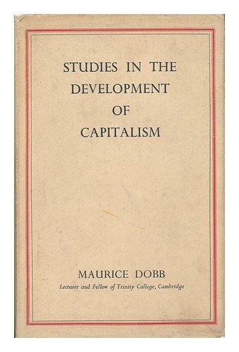 9780710012821: Studies in the Development of Capitalism