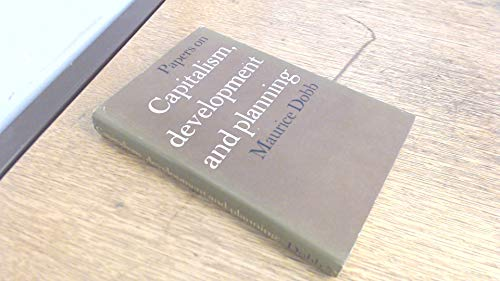 9780710012869: Papers on Capitalism, development and planning