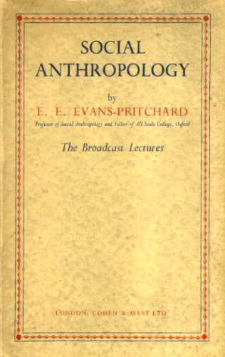 9780710013460: Social Anthropology