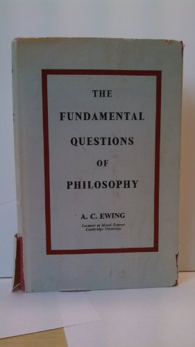 9780710013477: Fundamental Questions of Philosophy