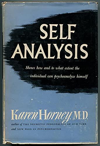 9780710015563: Self Analysis