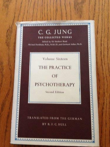 The Practice of Psychotherapy. Essays on the: Jung,C(arl) G(ustav).