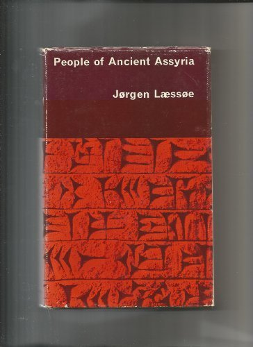 9780710017093: People of Ancient Assyria