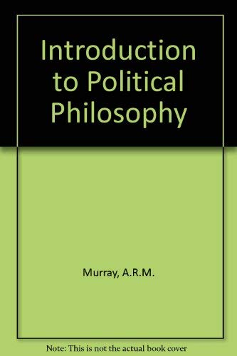 9780710018731: Introduction to Political Philosophy