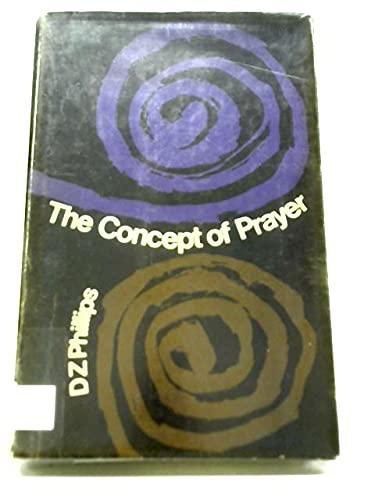 9780710019486: Concept of Prayer