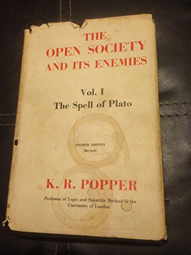 9780710019677: Open Society and Its Enemies: The Spell of Plato v. 1