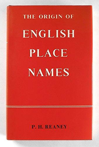 9780710020109: Origin of English Place-names