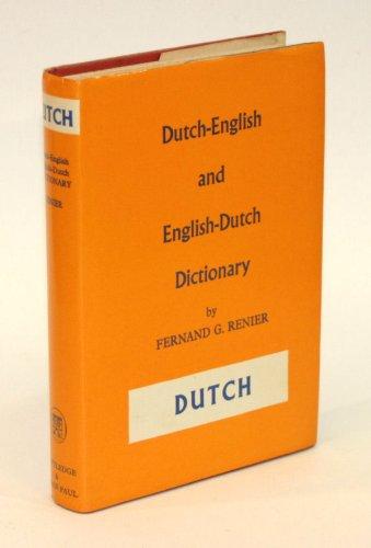 9780710020239: Dutch-English, English-Dutch Dictionary