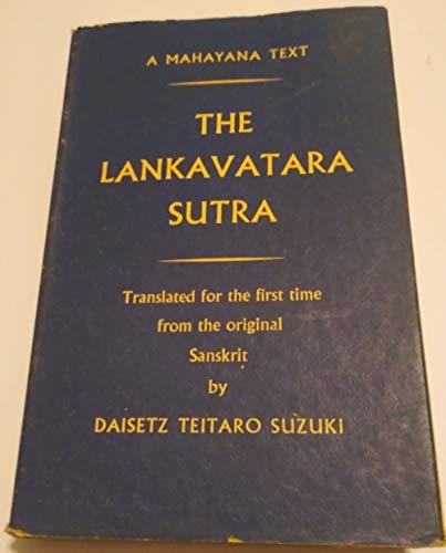 9780710021656: The Lankavatara Sutra: A Mahayana Text.