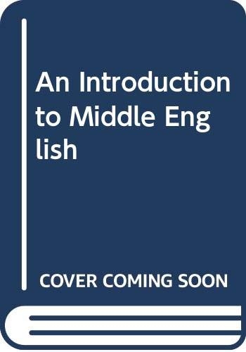 An Introduction to Middle English: Wardale, E. E.