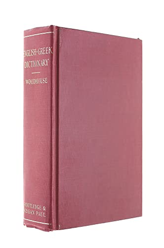 9780710023247: English-Greek Dictionary : A Vocabulary of the Attic Language