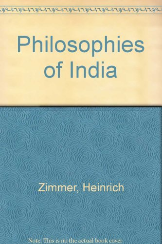 9780710023476: Philosophies of India