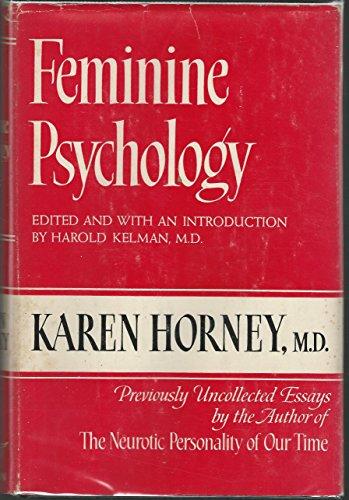9780710029775: Feminine Psychology