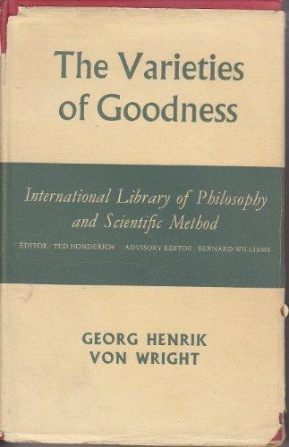 9780710036148: Varieties of Goodness