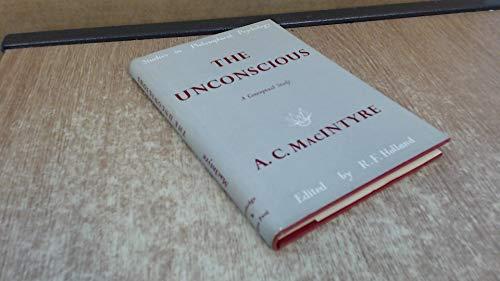 9780710038340: The Unconscious: A Conceptual Analysis