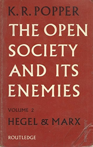 9780710046260: The Open Society and Its Enemies: The High Tide of Prophecy: Hegel, Marx and the Aftermath v. 2