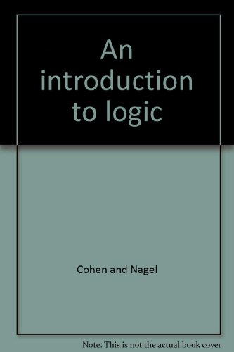 9780710046345: Introduction to Logic