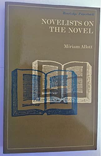 Novelists on the Novel: Allott, Miriam
