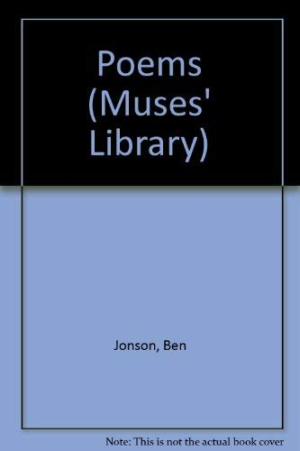 9780710049148: Poems (Muses' Library)