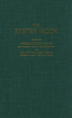 9780710049339: The Exeter Book