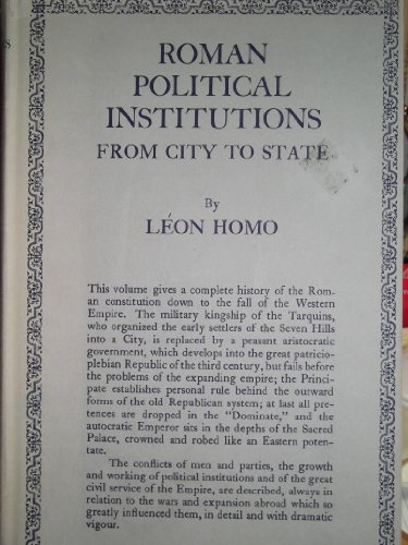 9780710049643: Roman Political Institutions: From City to State