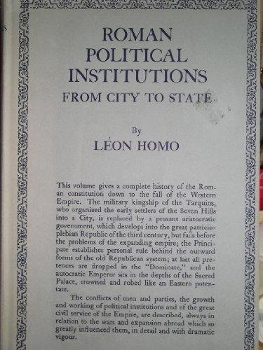 9780710049643: Roman Political Institutions