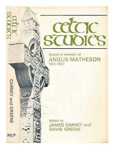 Celtic Studies: Angus Matheson