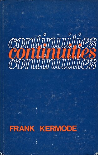 9780710061768: Continuities