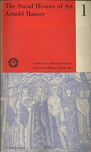 9780710062642: Social History of Art: From Prehistoric Times to the Middle Ages v. 1