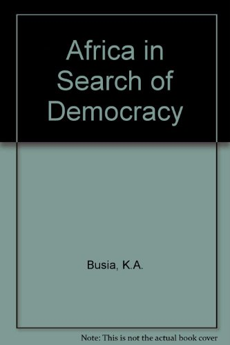 9780710062901: Africa in Search of Democracy