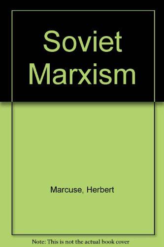 Soviet Marxism (071006327X) by Marcuse, Herbert