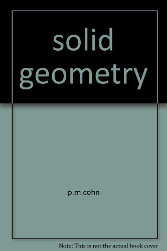 9780710063434: Solid Geometry