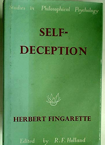 9780710063465: Self-Deception [Studies in Philosophical Psychology]