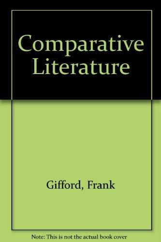 9780710063779: Comparative Literature (Concepts of Literature)