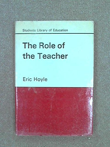 The Role Of the Teacher: Eric Hoyle