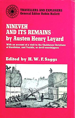 9780710064943: Nineveh and Its Remains (Travellers & Explorers)