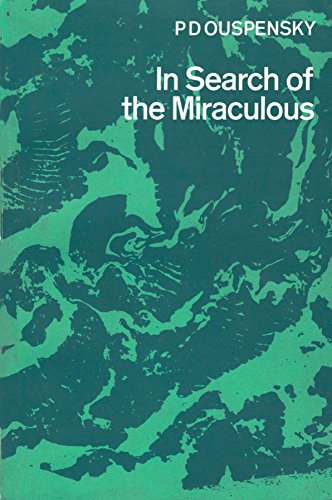 9780710066350: In Search of the Miraculous: Fragments of an Unknown Teaching