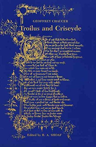 geoffrey chaucers troilus and criseyde Troilus and criseyde by geoffrey chaucer is widely regarded as one of his more influential works, alongside the canterbury tales chaucer wrote this poem in rime royal, a unique stanza form introduced in his works.