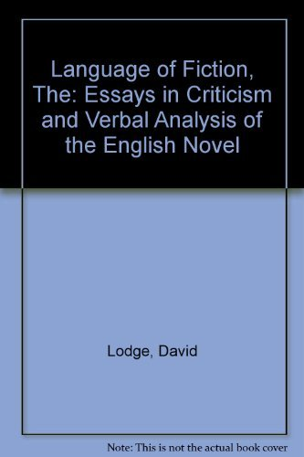 9780710066572: The Language of Fiction - Essays in Criticism and Verbal Analysis of the English Novel
