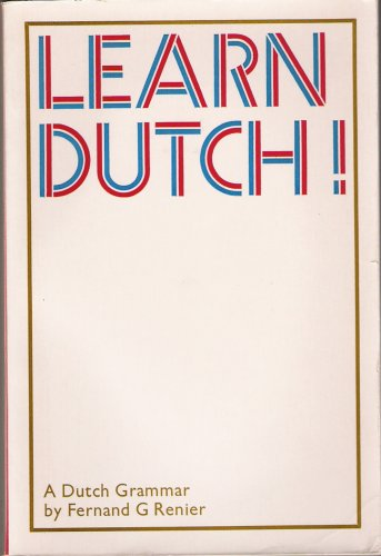 9780710068187: Learn Dutch (Trubner's colloquial manuals)