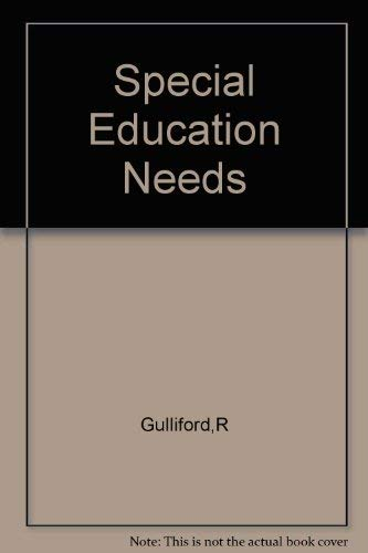 Special Educational Needs: Gulliford, Ronald