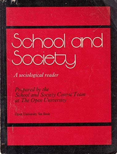 9780710071880: School and Society