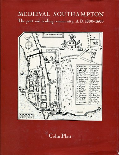 9780710076533: Medieval Southampton;: The port and trading community, A.D. 1000-1600