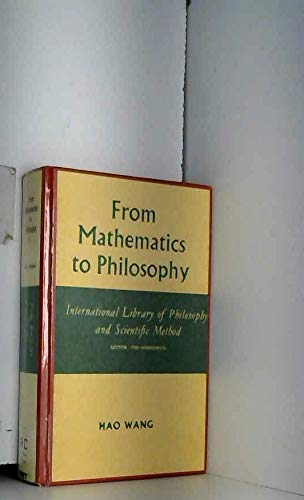 9780710076892: From Mathematics to Philosophy